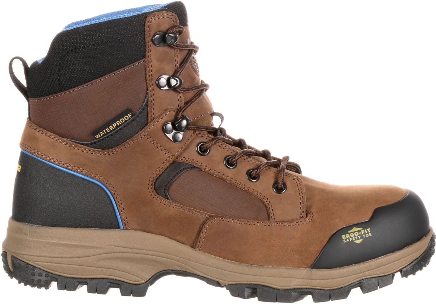 Georgia Boot Men's Blue Collar Hiker Waterproof Work Boots