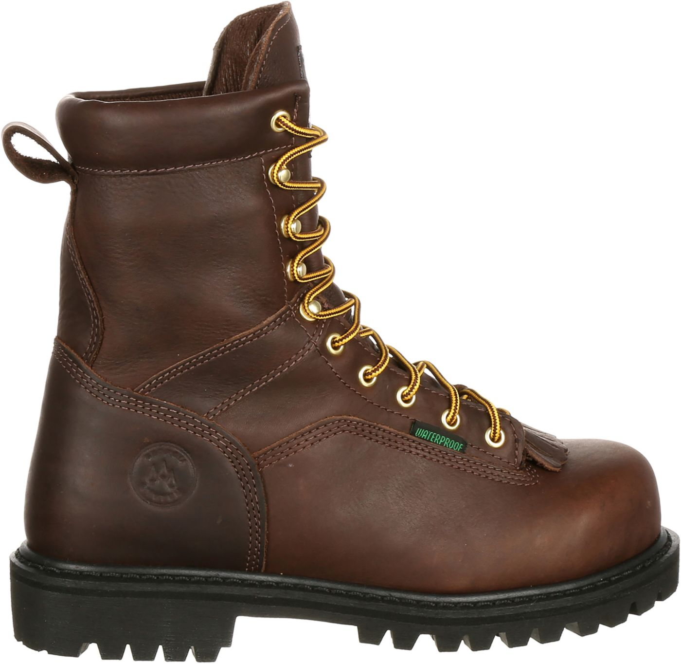 Georgia Boot Men's Lace-to-Toe EH Waterproof Steel Toe Work Boots