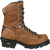 Georgia Boot Men's ComfortCore Logger EH Waterproof Composite Toe Work Boots