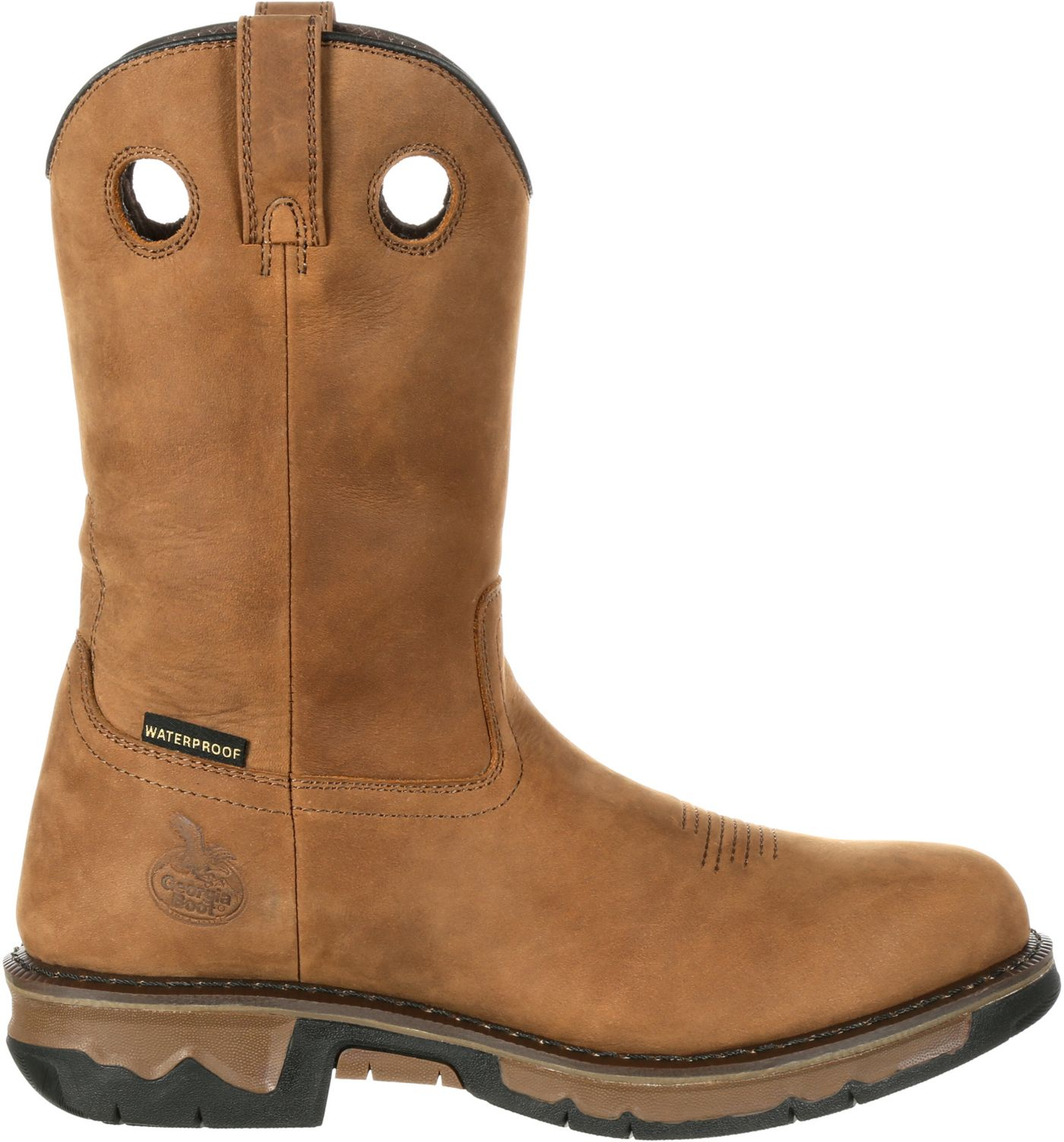 Georgia Boot Men's Carbo-Tec Waterproof Wellington Work Boots