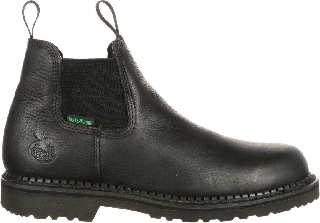 e39e3a48bc7 Georgia Boot Men's Giant High Romeo Waterproof Work Boots