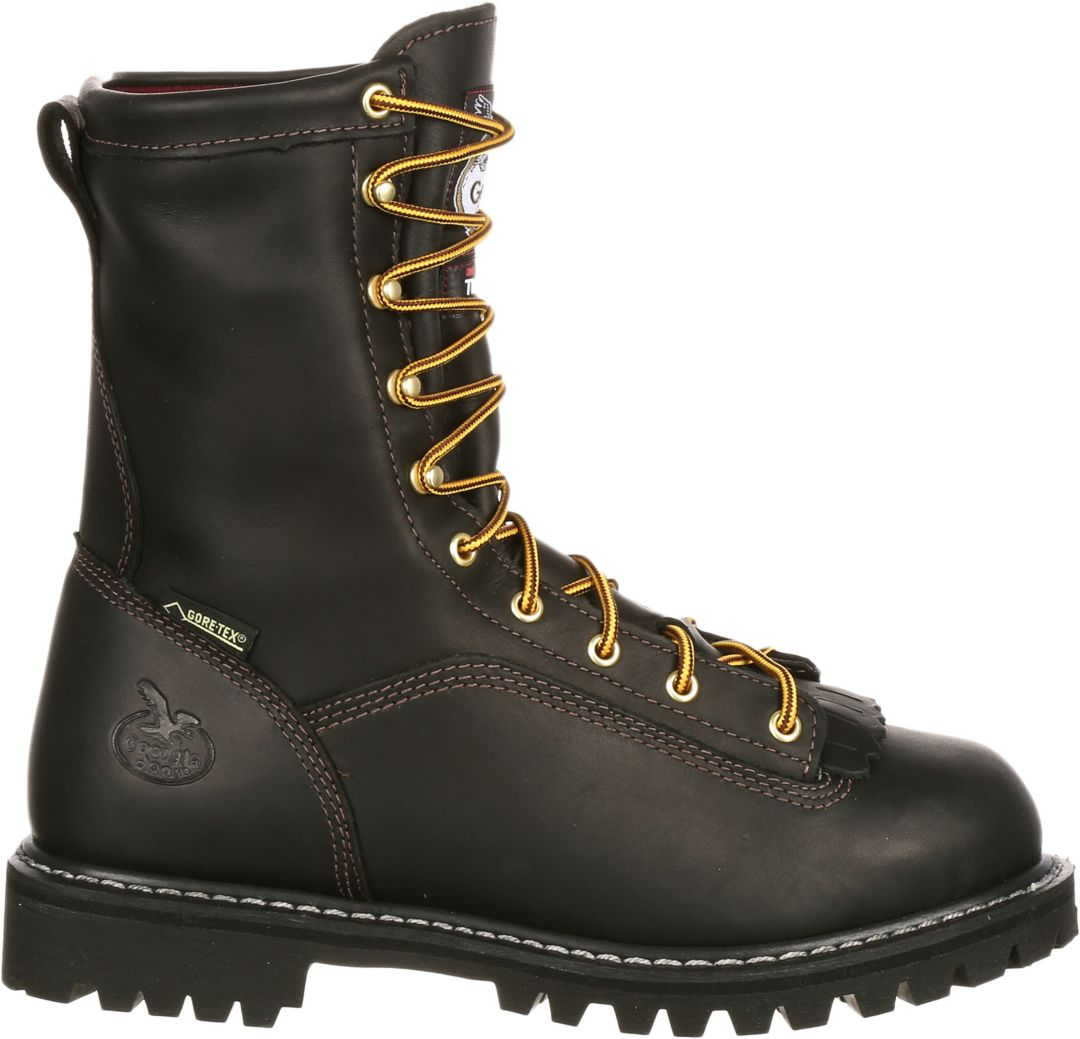 54bf9c12234 Georgia Boot Men's Lace-to-Toe 200g GORE-TEX Work Boots