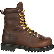 Georgia Boot Men's Lace-to-Toe Waterproof Work Boots