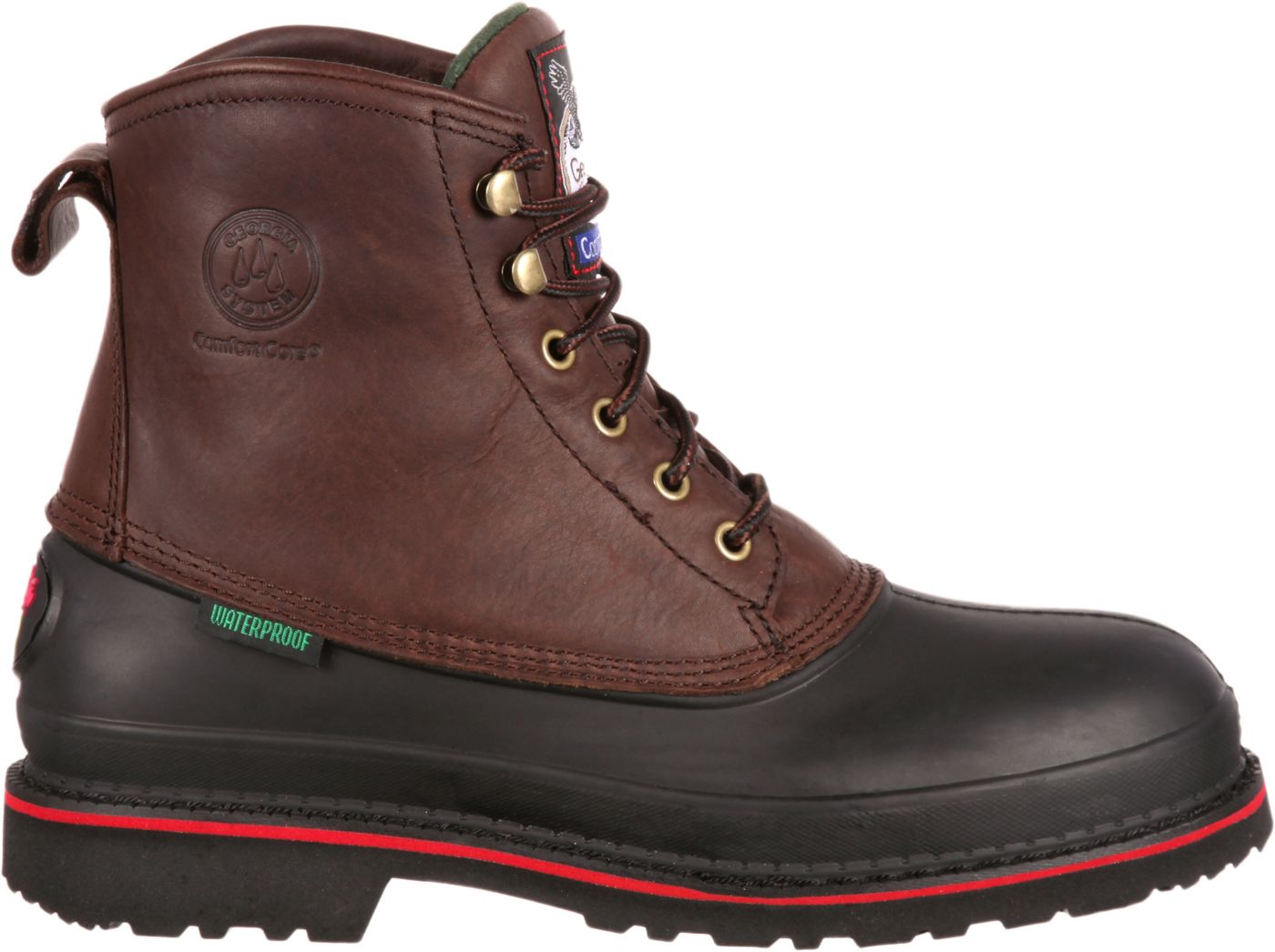 Georgia Boot Men's Muddog EH Waterproof Steel Toe Work Boots