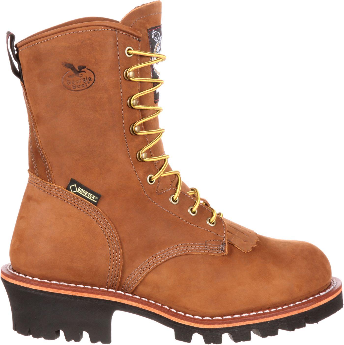 Georgia Boot Men's Logger 400g GORE-TEX Steel Toe Work Boots