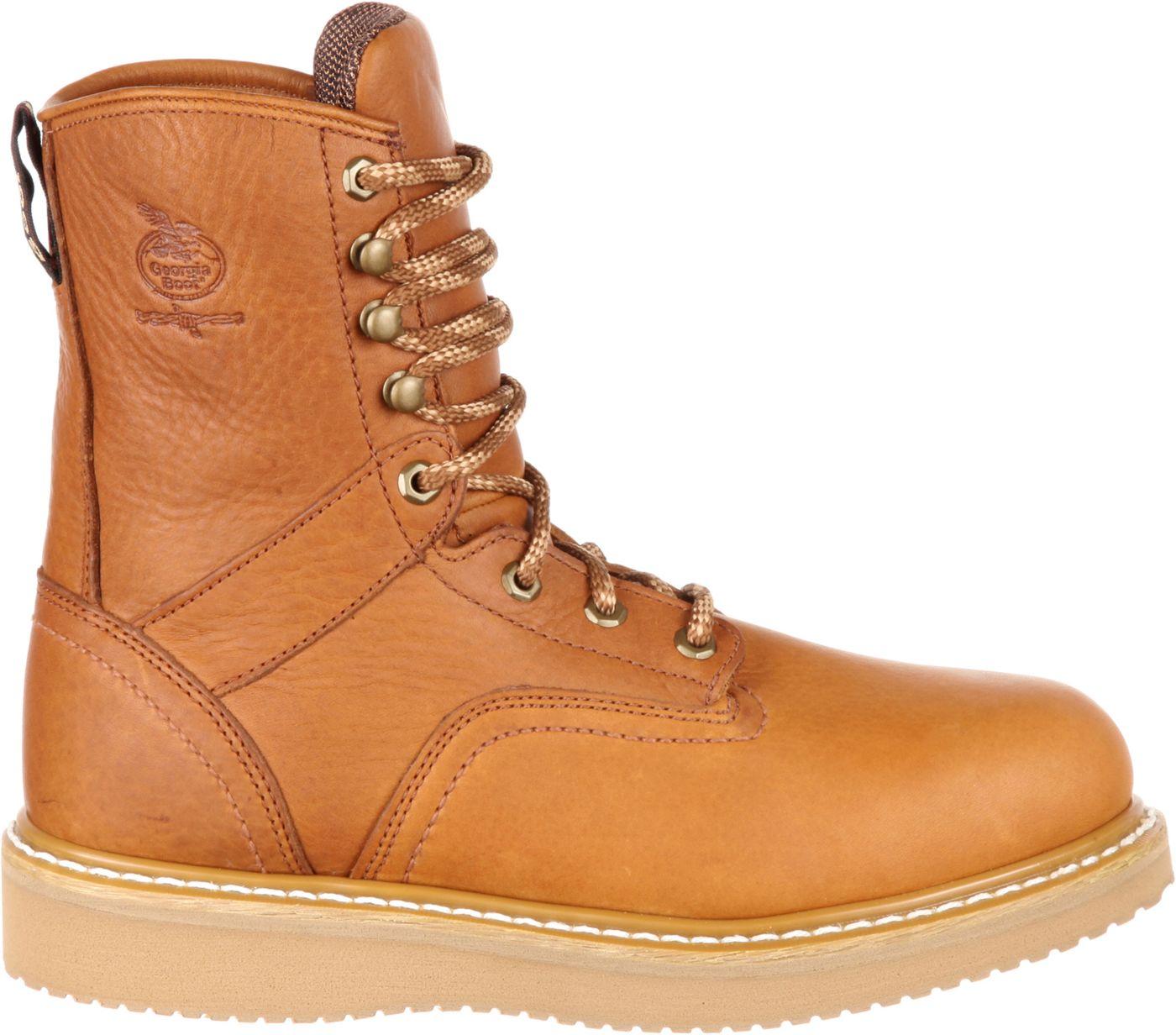 Georgia Boot Men's Wedge EH Steel Toe Work Boots