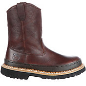 Georgia Boot Kids' Little Georgia Giant Wellington Work Boots