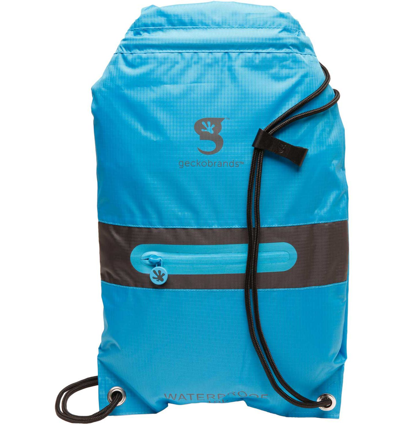 geckobrands Waterproof Drawstring 2.0 Backpack