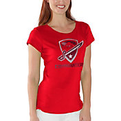 G-III For Her Women's San Antonio Commanders End Zone Red T-Shirt