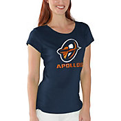 G-III For Her Women's Orlando Apollos End Zone Navy T-Shirt