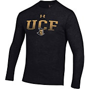 Under Armour Men's UCF Knights Tri-Blend Performance Long Sleeve Black T-Shirt