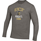 Under Armour Men's UCF Knights Grey Tri-Blend Performance Long Sleeve T-Shirt