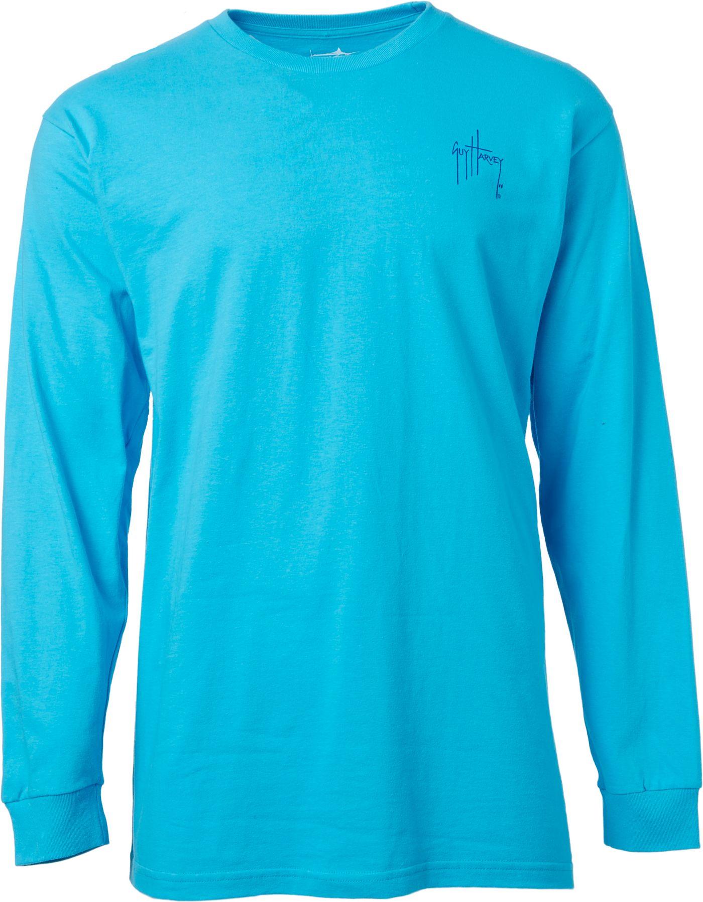 Guy Harvey Men's GH Logo Long Sleeve Shirt