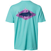 Guy Harvey Men's Kite Logo Short Sleeve T-Shirt