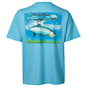 Guy Harvey Men's Tarpon Reflections Short Sleeve T-Shirt