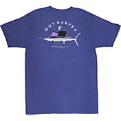 Guy Harvey Men's Windjammer Short Sleeve T-Shirt