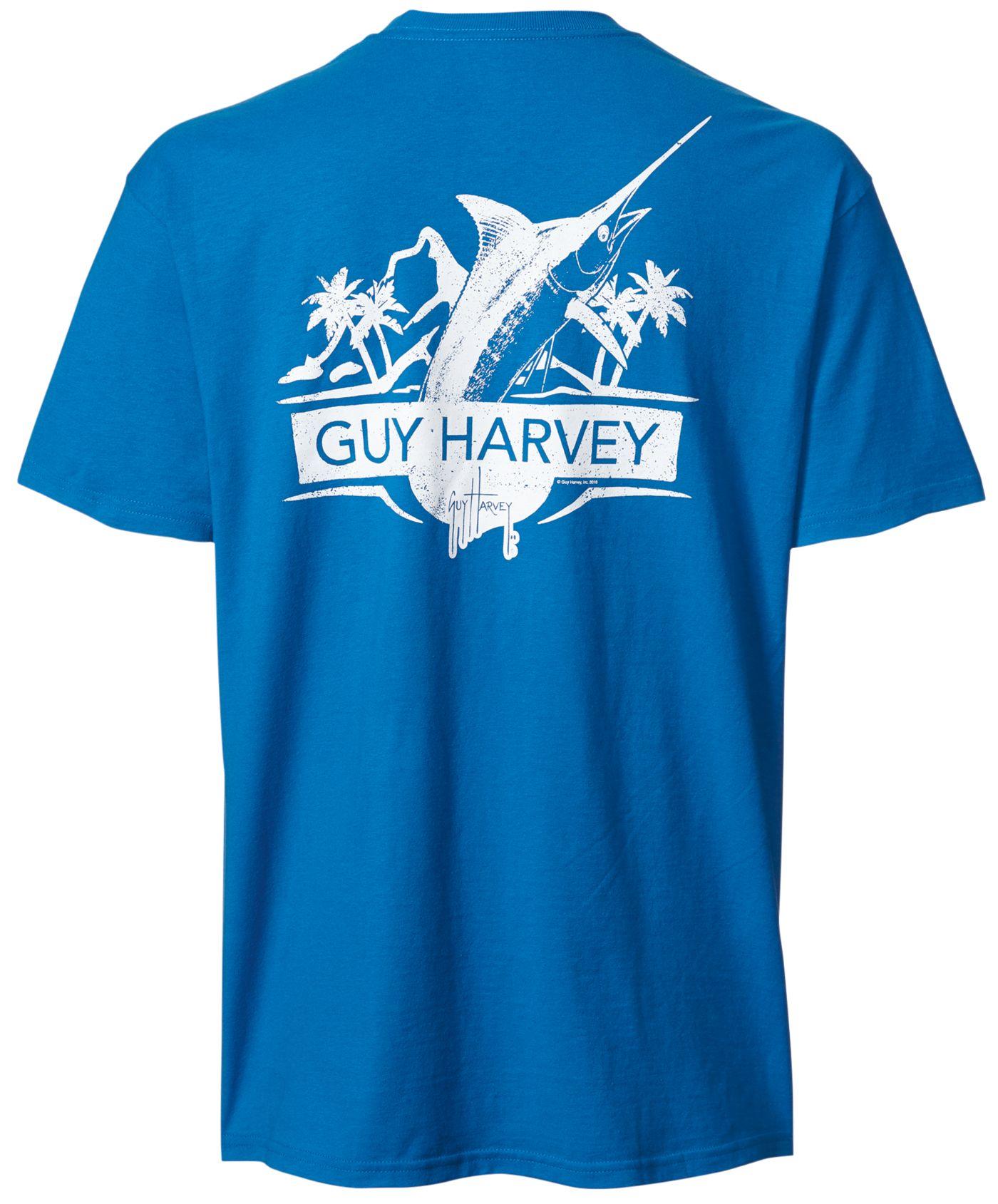 Guy Harvey Men's Warpaint Short Sleeve T-Shirt