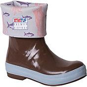XTRATUF Women's Salmon Sisters 12'' Legacy Waterproof Deck Boots