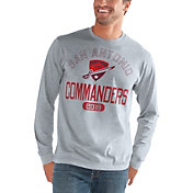 G-III Men's San Antonio Commanders Halftime Grey Long Sleeve Shirt