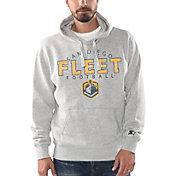 G-III Men's San Diego Fleet Freshman Grey Hoodie