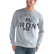 G-III Men's Birmingham Iron Halftime Grey Long Sleeve Shirt