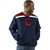 G-III Men's Cleveland Indians Pullover Jacket