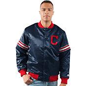 Starter Men's Cleveland Indians Varsity Jacket