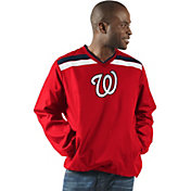 G-III Men's Washington Nationals Pullover Jacket