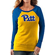G-III For Her Women's Pitt Panthers Gold/Blue Top Ranking Tunic