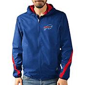 G-III Men's Buffalo Bills Endzone Royal Full-Zip Jacket