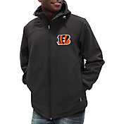 G-III Men's Cincinnati Bengals First Down Black Full-Zip Jacket