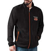 G-III Men's Cincinnati Bengals High Jump Black Full-Zip Jacket