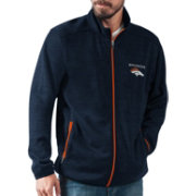 G-III Men's Denver Broncos High Jump Navy Full-Zip Jacket