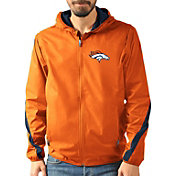 G-III Men's Denver Broncos Endzone Orange Full-Zip Jacket