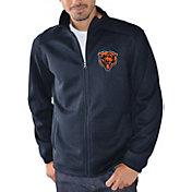 G-III Men's Chicago Bears Audible Navy Full-Zip Jacket