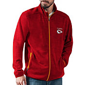 G-III Men's Kansas City Chiefs High Jump Red Full-Zip Jacket