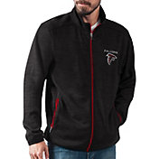 G-III Men's Atlanta Falcons High Jump Black Full-Zip Jacket