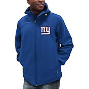 G-III Men's New York Giants First Down Royal Full-Zip Jacket