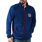 G-III Men's New York Giants High Jump Royal Full-Zip Jacket