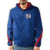 G-III Men's New York Giants Endzone Royal Full-Zip Jacket