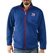 G-III Men's New York Giants Routine Royal Full-Zip Jacket