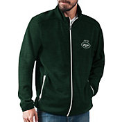 G-III Men's New York Jets High Jump Green Full-Zip Jacket