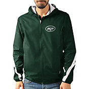 G-III Men's New York Jets Endzone Green Full-Zip Jacket