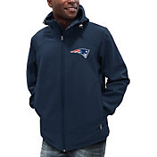 G-III Men's New England Patriots First Down Navy Full-Zip Jacket