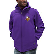 G-III Men's Minnesota Vikings First Down Black Full-Zip Jacket