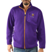 G-III Men's Minnesota Vikings Routine Purple Full-Zip Jacket