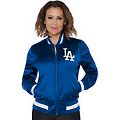 Touch by Alyssa Milano Women's Los Angeles Dodgers Bomber Jacket