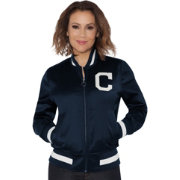 Touch by Alyssa Milano Women's Cleveland Indians Bomber Jacket