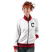 G-III Women's Cleveland Indians Track Jacket