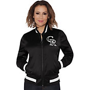 Touch by Alyssa Milano Women's Colorado Rockies Bomber Jacket